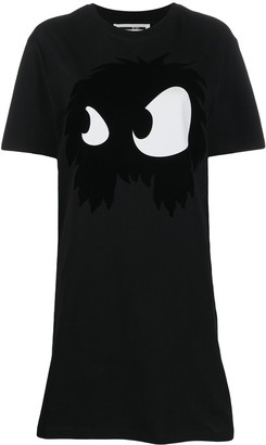 McQ Monster Eyes T-shirt dress