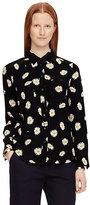 Kate Spade Daisy dot silk shirt