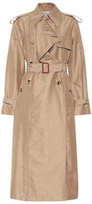 Valentino Cotton and silk trench coat