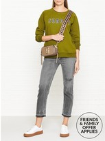 A Gold E AGOLDE Riley High Rise StraightCrop Jeans