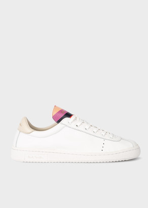 Women's White Leather 'Dusty' Trainers