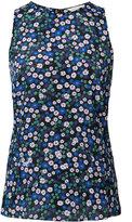 Rebecca Taylor floral print tank - women - Silk - 2