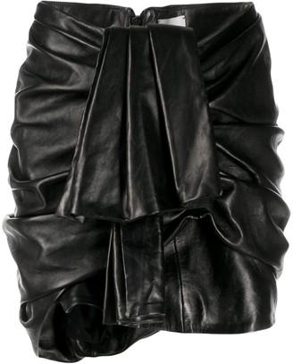 Magda Butrym Ruffled Short Skirt