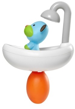 Skip Hop Toddler Zoo Bath Squeeze Shower Dog