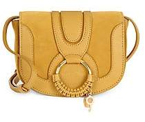 See by Chloe Women's Hana Leather & Suede Saddle Bag