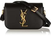 Saint Laurent Monogramme Sac Université Small Leather Shoulder Bag - Black