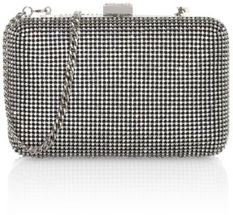 Whiting & Davis Yves Crystal Minaudiere