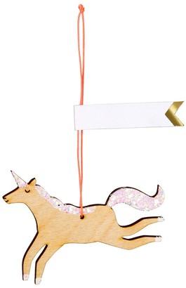 Meri Meri Unicorn Wooden Gift Tags Set of 8