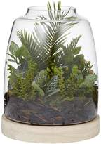 Rogue Artificial Bush Mix with Hampton Vase Terrarium