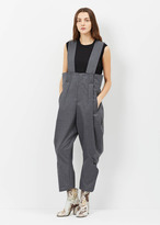Comme des Garcons gray overall