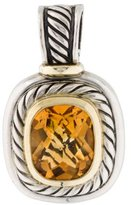 David Yurman Two-Tone Citrine Albion Pendant