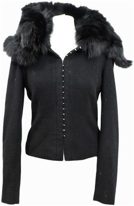 Amanda Wakeley Black Wool Jacket for Women