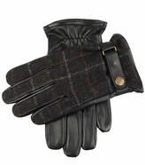 Dents Edinburgh Flannel And Leather Gloves