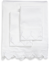Belle Epoque Scalloped Embroidered Sheet Set