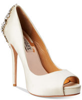 Badgley Mischka Kiara Platform Evening Pumps