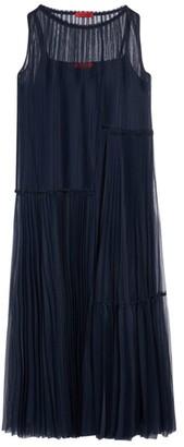 Max & Co. Premiato Pleated Maxi Dress