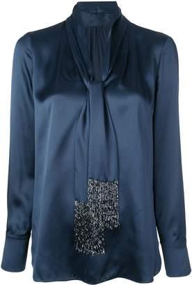 Elie Tahari Kendal V-neck blouse