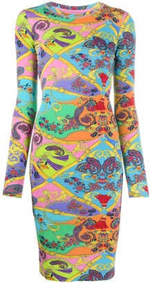 Versace Paisley Printed Dress
