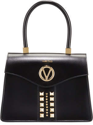 Mario Valentino Valentino By Melanie Studded Top-Handle Satchel Bag