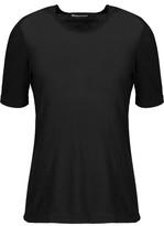 A.L.C. Rai Cutout Cotton And Cashmere-Blend T-Shirt
