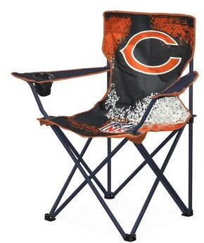 Idea Nuova NFL Kids Chair with Cup Holder NFL Team: Chicago Bears