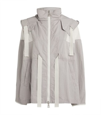 Moncler Mais Oversized Hooded Jacket