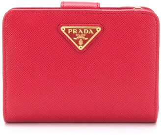 Prada small Saffiano wallet