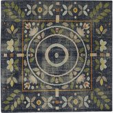 CB2 Petal Hand-Knotted Rug 6'