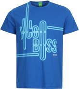 BOSS GREEN T-Shirt 50342560-499 Open Blue