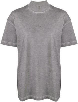 A-Cold-Wall* worn-out effect logo T-shirt