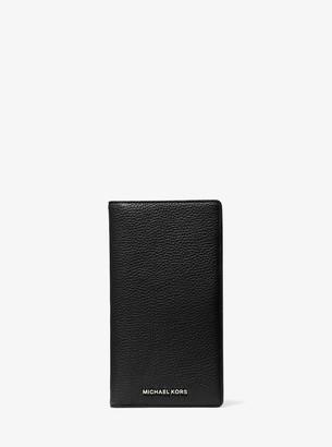 MICHAEL Michael Kors Bedford Legacy Large Pebbled Leather Travel Wallet