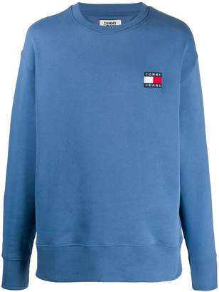 Tommy Hilfiger logo patch sweater