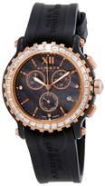 Akribos XXIV Akribos Chronograph Black Ceramic Ladies Watch
