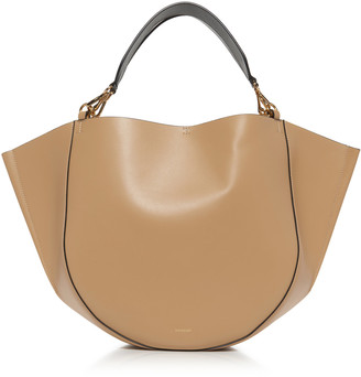 Wandler Mia Two-Tone Leather Tote