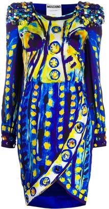 Moschino Matador print dress