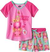 Komar Kids Num Noms Berry Good Shortie Pajama for girls (6/6X)