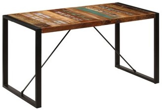 """Bungalow Rose Medlock Solid Wood Dining Table Size: 29.5"""" H x 86.61"""" L x 39.37"""" W"""