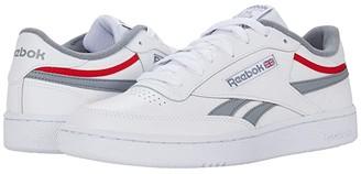 Reebok Club C Revenge (White/Cold Grey/Vector Red) Men's Shoes