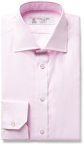 Turnbull & Asser - Pink Slim-fit Woven Cotton Shirt