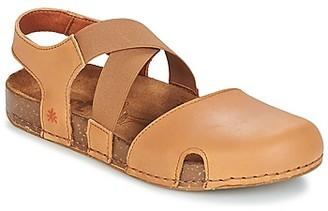 Art WE WALK women's Sandals in Brown