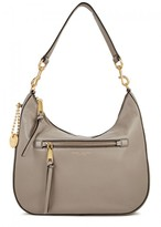 Marc Jacobs Recuit Taupe Leather Hobo Bag