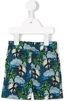 Stella McCartney palm tree print swim shorts