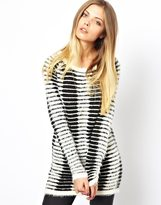 Noisy May Striped Longline Jumper