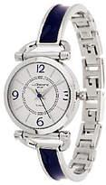 Liz Claiborne New York Enamel Bracelet Watch