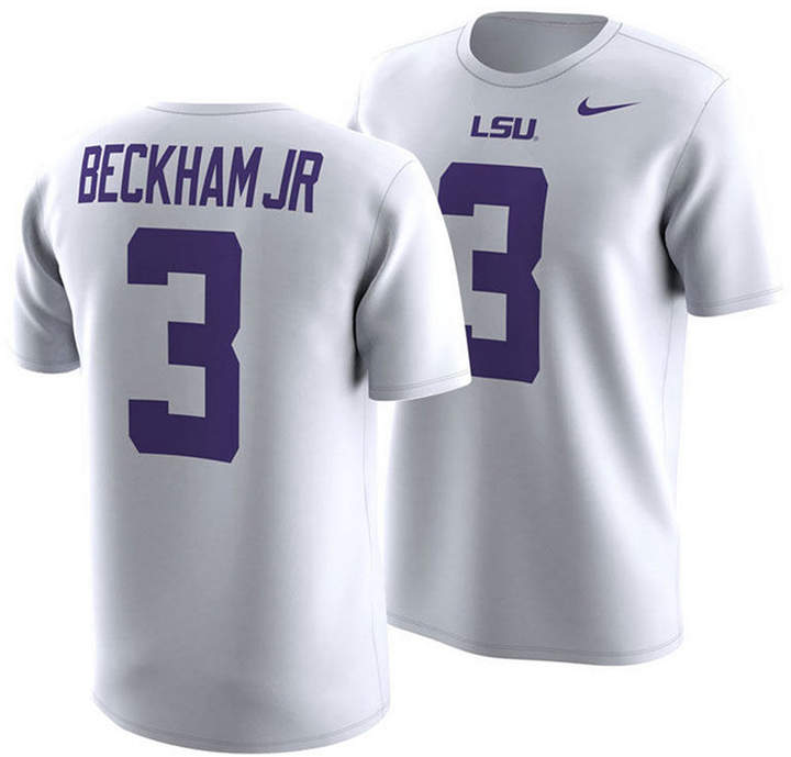 brand new ea13b 63571 Odell Beckham Jr. Lsu Tigers Future Star T-Shirt, Big Boys (8-20)
