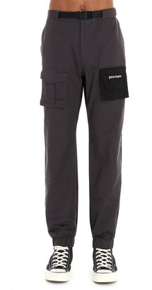 Palm Angels Pocket Detailed Cargo Pants