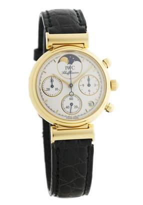 IWC White Yellow gold Watches
