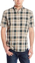 Arrow Men's Short Sleeve Madras Shirt 1