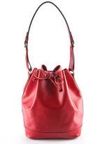 Louis Vuitton Red Epi Leather Gold Tone Epi Noe Tote Handbag BP0875 MHL