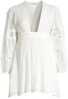SUNDRESS Lucie Crochet Metallic Short Dress
